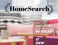 Homesearch Magazine Template