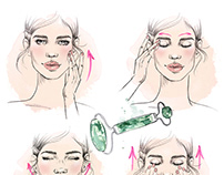 Glamour Beauty illustrations