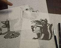 Ilustrações para rótulos