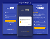Login-Signup | E-Banking Service