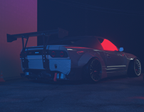 Nissan 380SX Cinema 4D