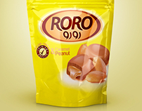 Roro toffee packaging