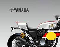 "YAMAHA XJS 1300 YARD BUILT ""FLYING FINN"""