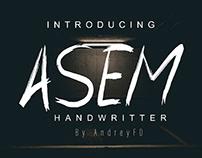 Free Asem Handwritten Font