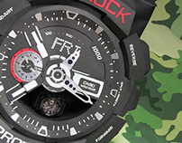 Handcrafted G-Shock Display