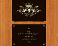 Business Card Design. Studio Daci