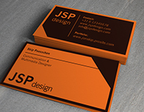 Adobe style (splash) business cards