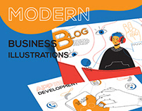 Modern Business Illustrations