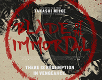 Blade Of The Immortal (Movie Poster)