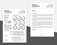 Free Minimal Resume Template (AI + PSD)