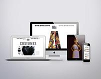 """Website Design - """"Originally Gods"""""""