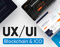 UX/UI for Blockchain and ICO projects