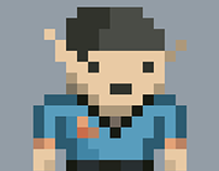 Star Trek - Pixel Series: Mr. Spock