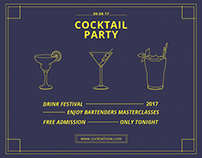 Cocktail Party | Modern and Creative Templates Suite