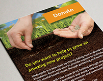 Lindengate Charity Promotional Postcards