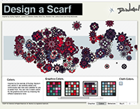 Design a Scarf: Generative Web Application