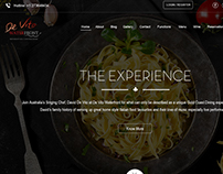 De Vito Waterfront Restaurant - Website Design