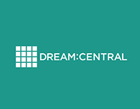 Dream:Central logo and letterhead concepts