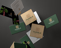 The Humble Bed & Hotel Branding