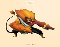 Bhaskara - The Lion Man