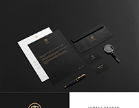 Branding mockup for lawyer