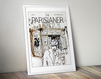The PARISIANER, Couverture