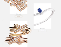 Chaumet - refonte du site officiel