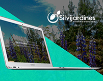 Web & Logo design for Silvijardines