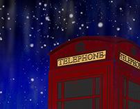 Digital Illustration: London night