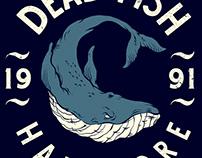 Camiseta Baleia - Dead Fish