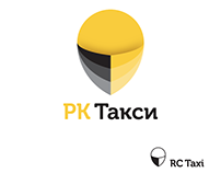 Logo and guidebook for RC Taxi