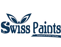 Swiss Paints - Bucket design & Branding