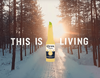 Cerveza Corona - Winter This is Living