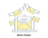 Mailer Header