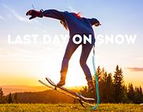 Last day on snow