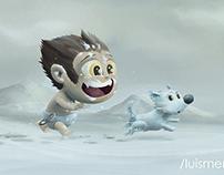 Run, wolvie run...
