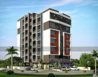 latest 3D architectural Design in India modelling