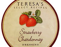 Teresa's Select Recipe Salad Dressing Illustrations #1