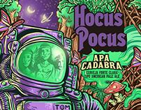 Hocus Pocus - Apa Cadabra Beer Label