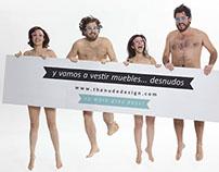 the nude desing - branding