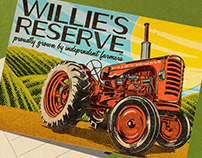 Willie's Reserve Postcard