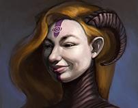 Olga's portrait