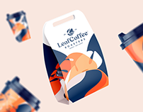 Leaf Coffee Roasters Branding