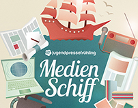 ILLUSTRATION | Poster Jugendpressefruehling