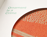 Ornament is a Crime?