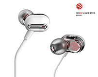 PHIATON HYBRID EARPHONE (MS 300 BA)