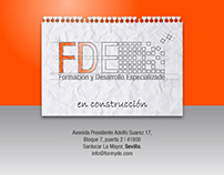 web under construction  Formación y Desarrollo Especial