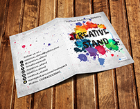 Exhibition Stationary for Creative Stand, Cairo