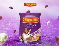 Cristales Sanitarios Champion Katt
