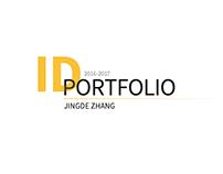 ID PORTFOLIO 2016-2017 Jingde Zhang